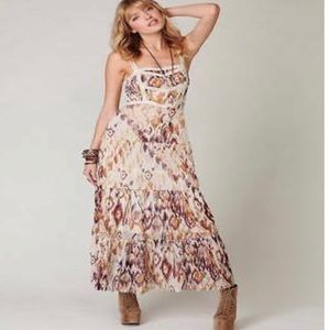 Intimately Free People Ikat Print Maxi Dress